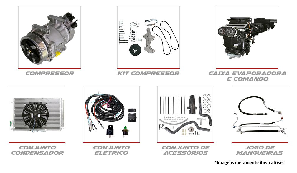 <p><span>Os equipamentos de ar condicionado automotivo<span>ACA</span>são desenvolvidos para manter as<span>características originais do veículo:</span></span></p>
